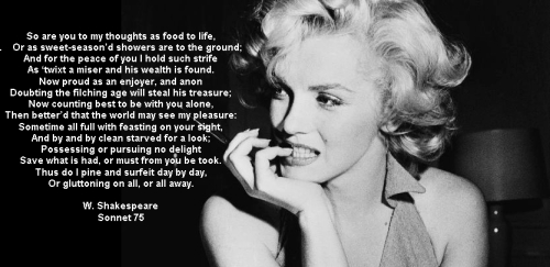 marilyn_shakes. sonnet 75